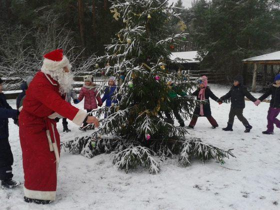 kalėdinė programa vaikam idėjos