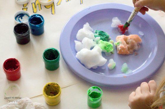 kūrybinės pramogos vaikams žiemą