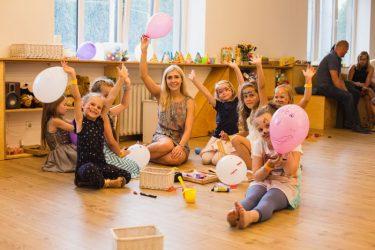 sveikuoliškas gimtadienis vaikams