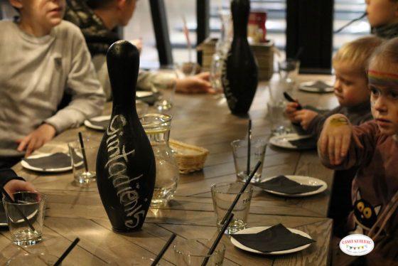 stalo dekoracijos gimtadienis kėgliai