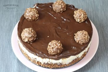 tortas iš ferrero rocher saldainių