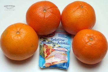 ką pagaminti iš apelsinų receptai
