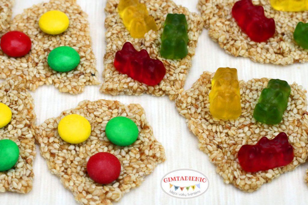 kozainakai receptas idėjos vaikų vaišėms su trispalve
