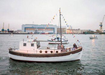 laivo nuoma šventei klaipėda nerija kintai ventė