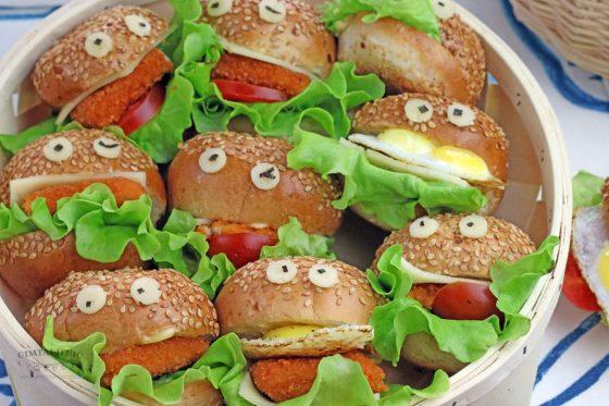 maistas vaikų šventei