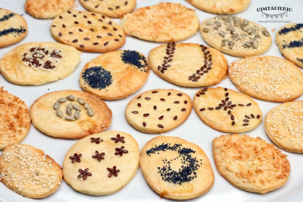 sausainiai velykoms receptai