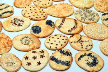 velykiniai sausainiai margučiai su sėklomis