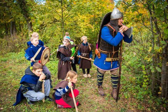 vikingų kaimas