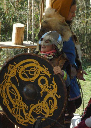 vikingų kaimas vaikams