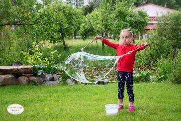dideli muilo burbulai paprastas receptas kaip juos pasidaryti patiems