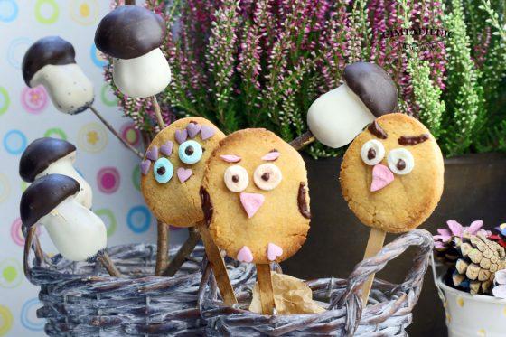 pelėdžiukai sausainiai