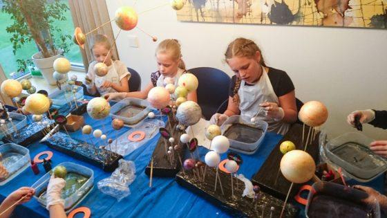 astronomija kosmosas pažintinė programa mokiniams
