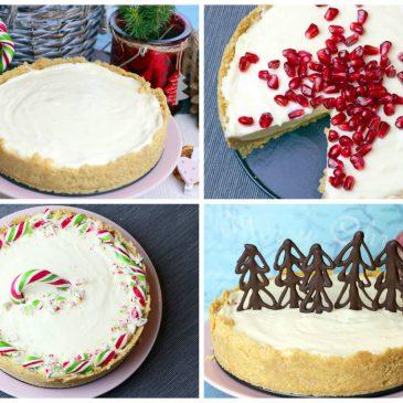 greitas kalėdinis sūrio tortas ir 3 būdai kaip jį papuošti