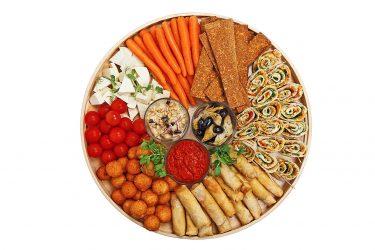 vegetariškas maistas vaikų šventei