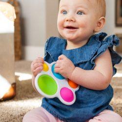 sensoriniai žaislai kūdikiui