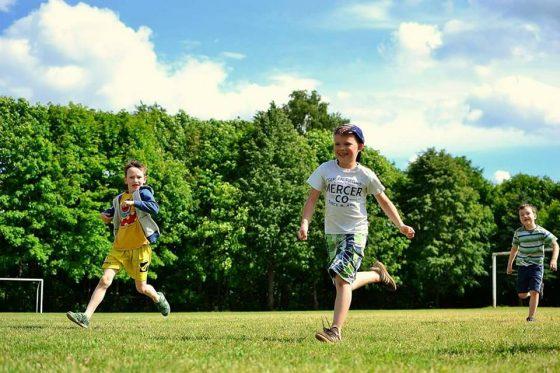 aktyvi šventė vaikams