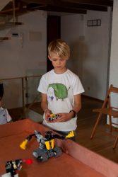 robotų mūšis vaikams