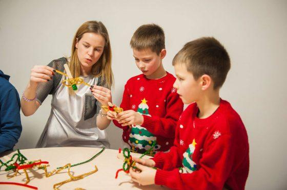 kalėdinės dirbtuvės vaikams