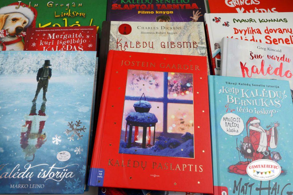 kalėdinės knygos vaikams