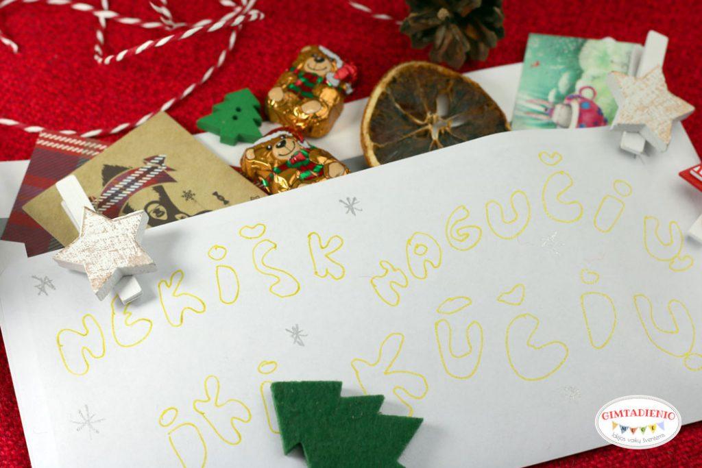 nagutis vaikams kūčios kalėdos