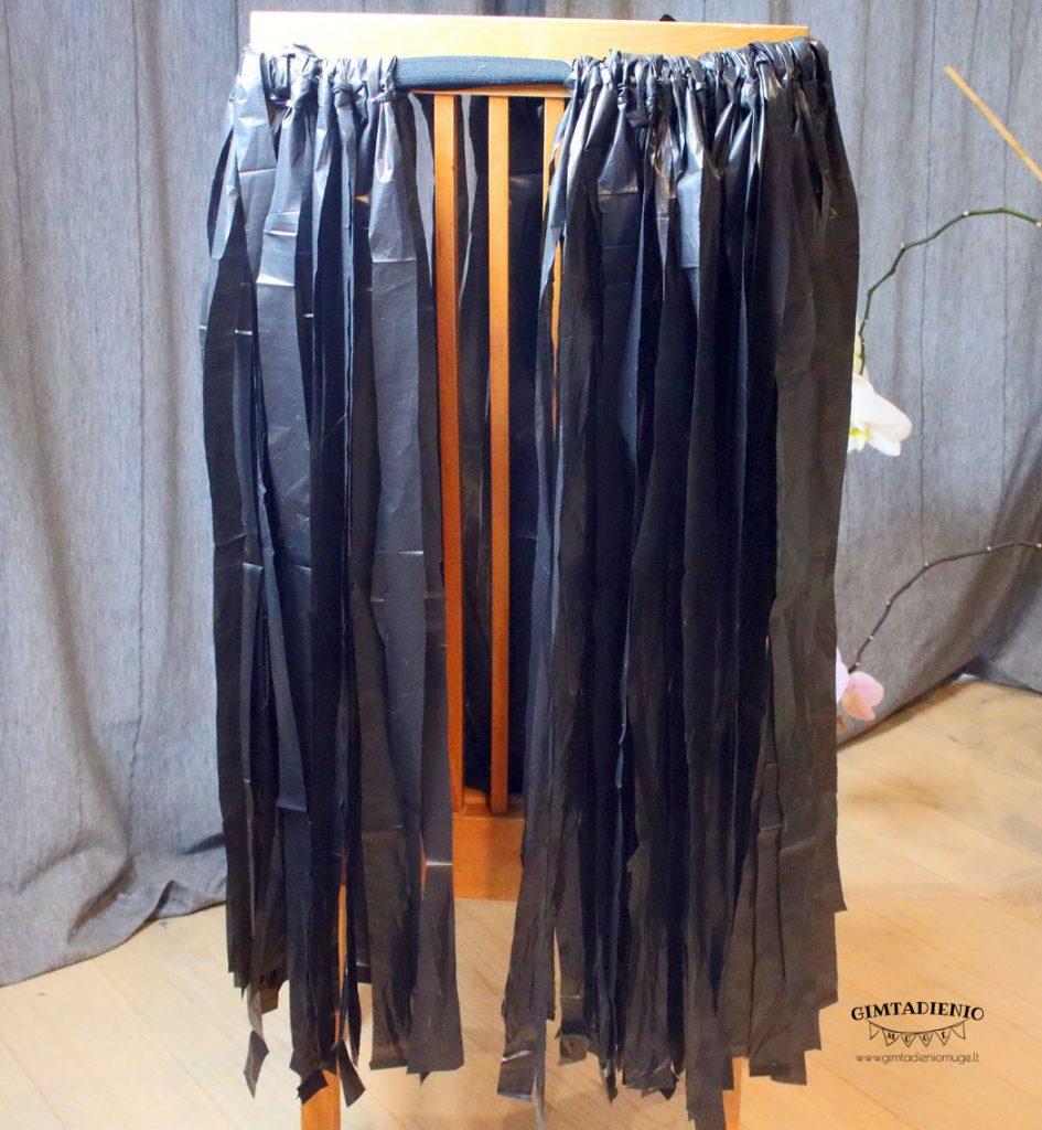 sijonas suknelė iš antrinių žaliavų