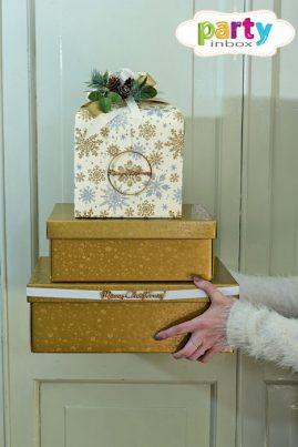 dovanų dėžutės kalėdoms