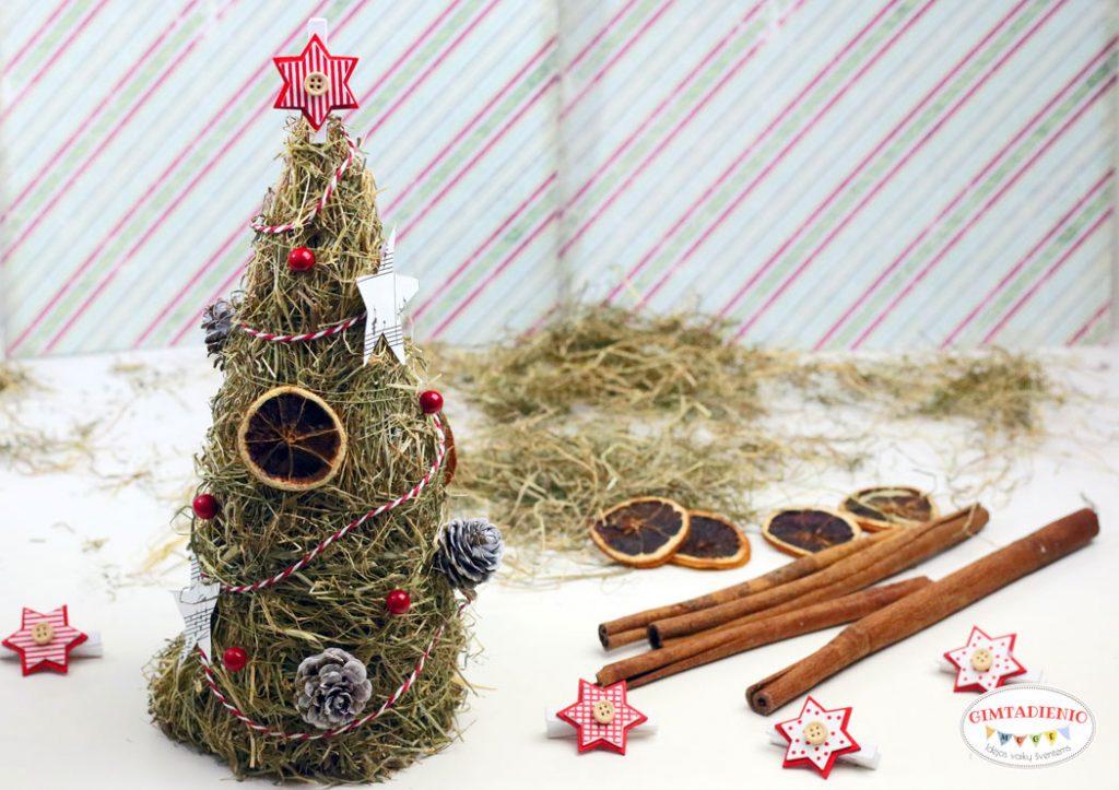 kalėdų eglutė pasidaryk pats