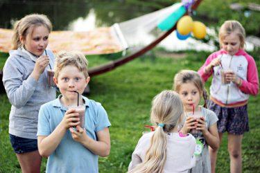 užsakomos pramogos vaiko gimtadieniui lauke