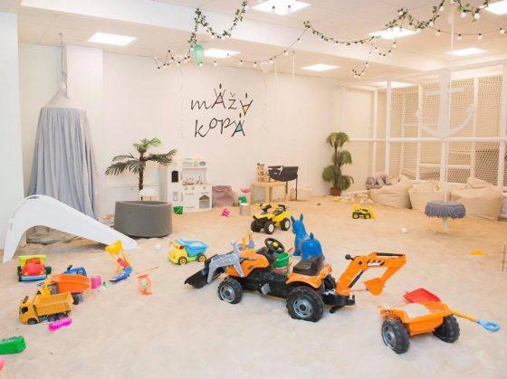 žaidimų kambarys mažiausiems