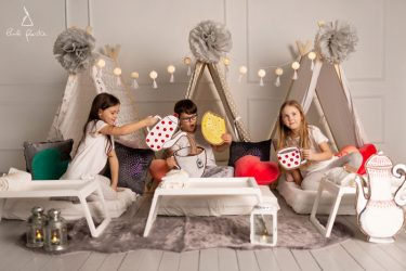 pižamų vakarėlis mergaitėms kaip surengti