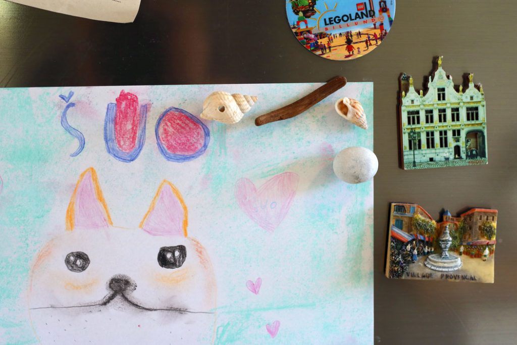 kriauklės akmenukai idėjos vaikų vasaros darbeliai