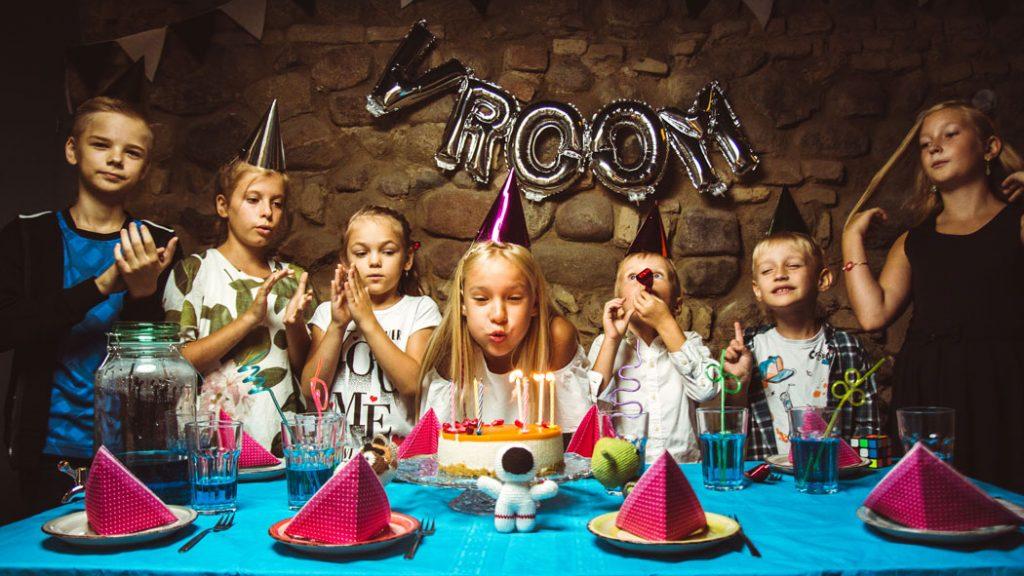 vroom vaikų gimtadieniai