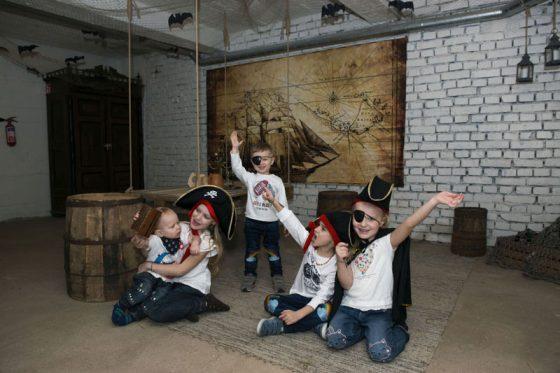 piratų pabėgimo kambarys