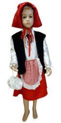 raudonkepuraitės kostiumas nuoma