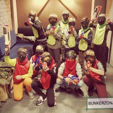 vaikų ir paauglių gimtadieniai kariniame bunkeryje nerf ;asertag šautuvai ir kitos aktyvios pramogos