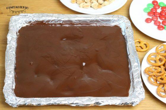 tirpintas šokoladas receptas