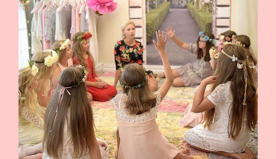 mergaitės gimtadienis su grožio pamokomis