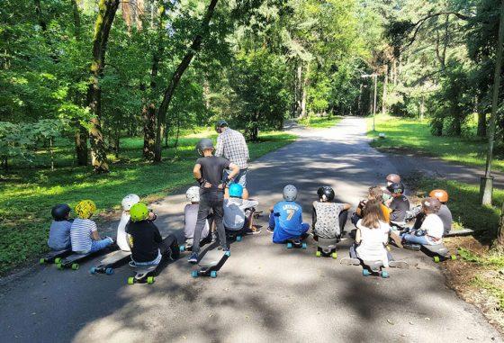 dienos stovykla vaikams paaugliams gryname ore