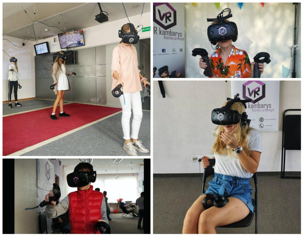 paauglio gimtadienis virtualis realybe