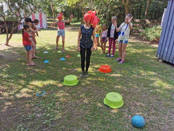 sportiška stovykla vaikams ir paaugliams