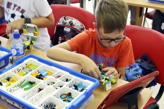 technologijų dienos stovykla vaikams