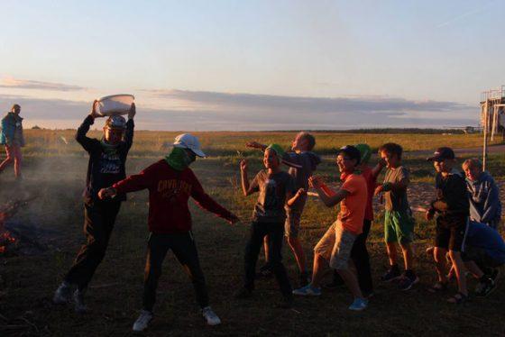 vasaros stovykla su skautais