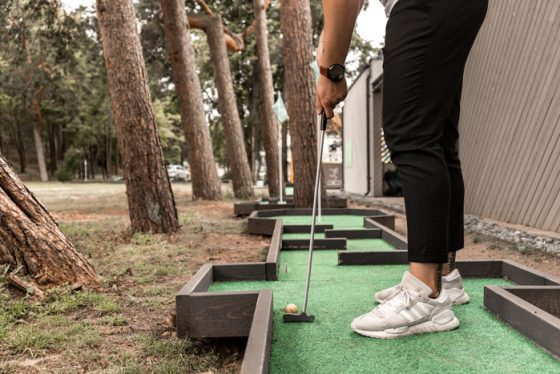 mini golfas palanga