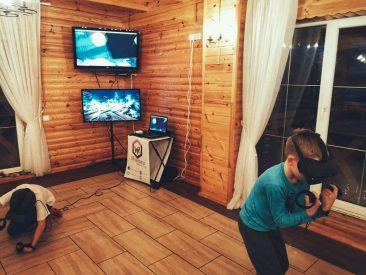 virtuali realybė pramogos namų gimtadienis