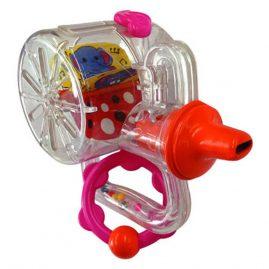kalbą klausą lavinantis žaislas kūdikiui