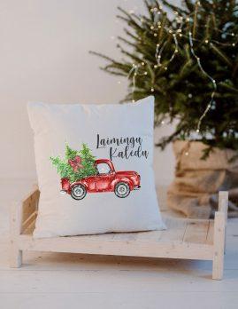 kalėdinė pagalvėlė