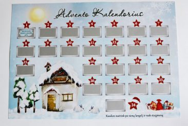 nebrangus advento kalendorius
