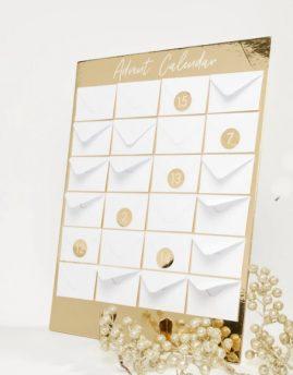 paprastas advento kalendorius