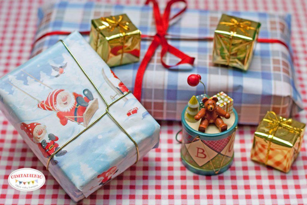 kaip pakuoti dovanas
