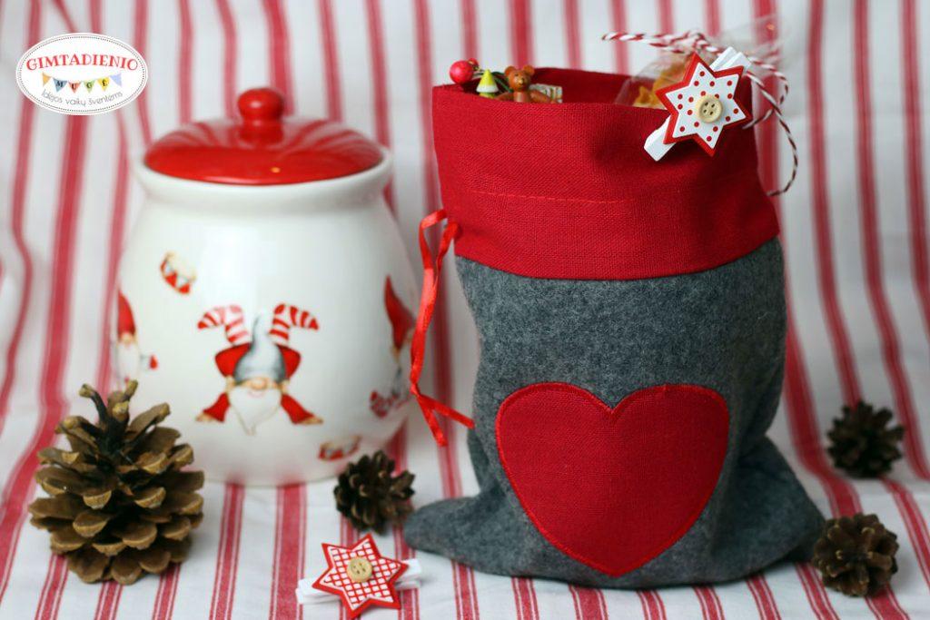 kaip supakuoti kalėdines dovanas